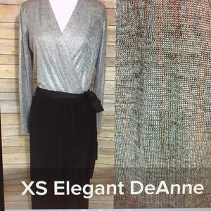 LuLaRoe XS Elegant DeAnne Dress